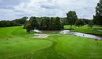 ZOETERMEER - Green hole 12 en 15. BurgGolf Westerpark.  COPYRIGHT  KOEN SUYK