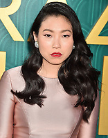 HOLLYWOOD, CA - AUGUST 07: Awkwafina arrives at the Warner Bros. Pictures' 'Crazy Rich Asians' premiere at the TCL Chinese Theatre IMAX on August 7, 2018 in Hollywood, California.<br /> CAP/ROT/TM<br /> &copy;TM/ROT/Capital Pictures