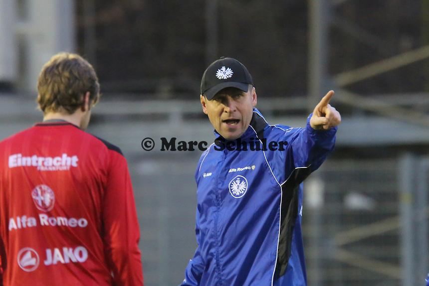 Co-Trainer Rainer Geyer (Eintracht)