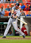 16 May 2007: Atlanta Braves third baseman Chipper Jones in action against the Washington Nationals at RFK Stadium in Washington, DC. The Nationals rallied to defeat the Braves 6-4 to take a 2-1 lead in their four-game series...Mandatory Photo Credit: Ed Wolfstein Photo