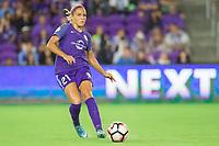 Orlando, FL - Saturday August 12, 2017: Monica Hickmann Alves during a regular season National Women's Soccer League (NWSL) match between the Orlando Pride and Sky Blue FC at Orlando City Stadium.