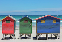 Cabanas, Cape Town, South Africa.