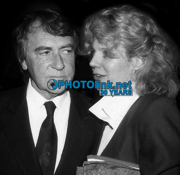 Joe Papp and Blythe Danner 1984<br /> Photo By John Barrett/PHOTOlink