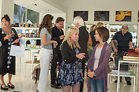 Lisa S. Johnson 108 Rock Star Guitars Artist Reception & Book Signing at Ron Robinson in Santa Monica on Sept. 3, 2015 (Photo by Inae Bloom/Guest of a Guest)