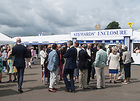 Henley on Thames. United Kingdom. Entrance to the Stewards Enclousure.     Thursday,  30/06/2016,      2016 Henley Royal Regatta, Henley Reach.   [Mandatory Credit Peter Spurrier/ Intersport Images]