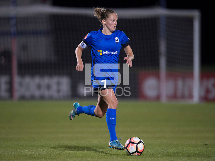 Boyds, MD - Saturday September 30, 2017: Elli Reed during a regular season National Women's Soccer League (NWSL) match between the Washington Spirit and the Seattle Reign FC at Maureen Hendricks Field, Maryland SoccerPlex.