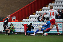 Iain Hume of Preston scores their first goal. - Stevenage v Preston North End - npower League 1 - Lamex Stadium, Stevenage - 9th April, 2012. © Kevin Coleman 2012