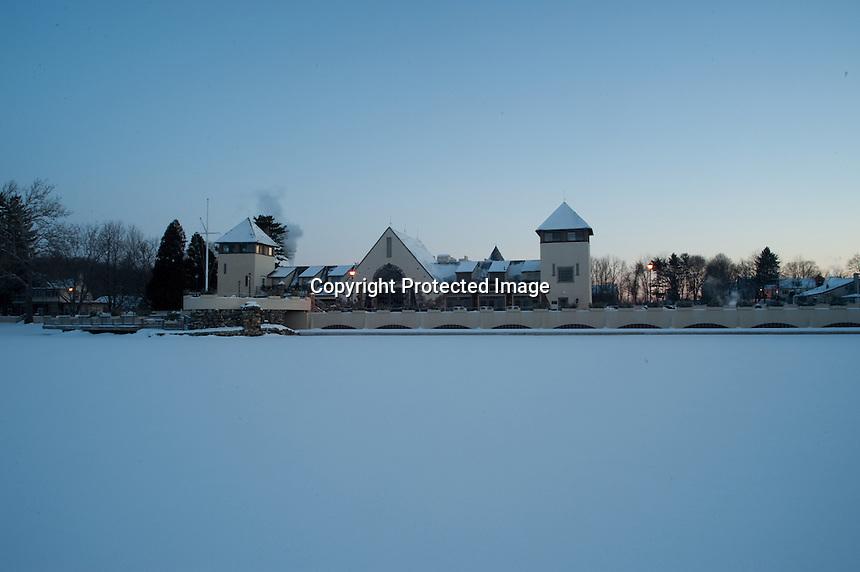 Lake Mohawk at -8 degrees