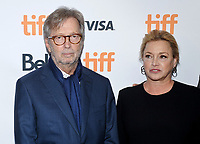 10 September 2017 - Toronto, Ontario Canada - Eric Clapton, Lili Fini Zanuck. 2017 Toronto International Film Festival - &quot;Eric Clapton: Life In 12 Bars&quot; Premiere held at TIFF Bell Lightbox. <br /> CAP/ADM/BPC<br /> &copy;BPC/ADM/Capital Pictures