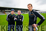 William Harmon, William Power and John Sugrue South Kerry Management Team at the County Senior Football Semi Final at Fitzgerald Stadium Killarney on Sunday.