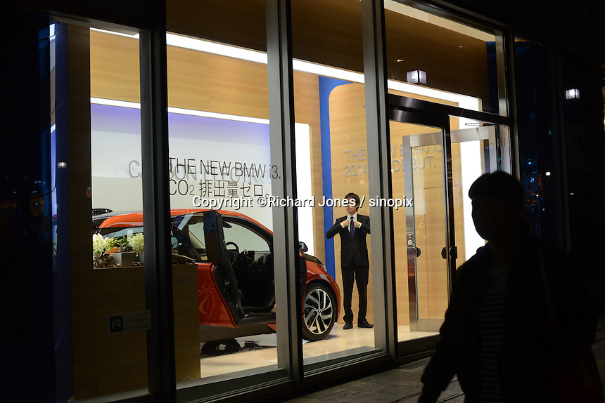BMW show room is in Omotesando Hills,