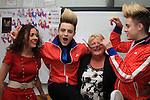 Jedward visit Drogheda School as prize for Jack and Jill Foundation Competition