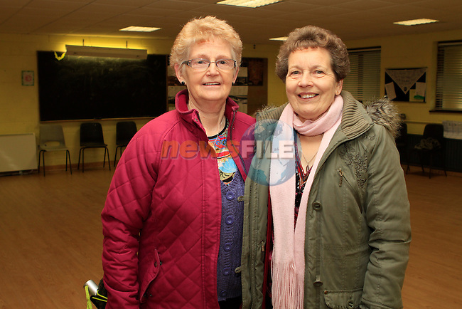 Noreen Ryan and Margaret Slattery at the Annual Set Dancing Weekend in An Grianan, Termonfeckin...Photo NEWSFILE/Jenny Matthews..(Photo credit should read Jenny Matthews/NEWSFILE)