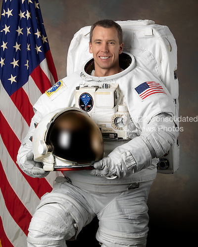Houston, TX - (FILE) -- Official portrait of Astronaut Andrew J. Feustel, mission specialist, STS-125, taken on February 6, 2008.  Feustel is scheduled to launch Monday, May 11, 2009 at 2:01 p.m. EDT aboard the Space Shuttle Atlantis for a mission to service the Hubble Space Telescope..Credit: NASA via CNP