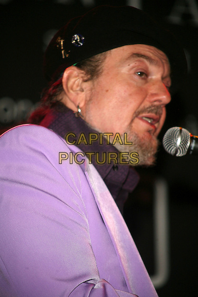 DR. JOHN.Dr. John was one of the performers in the weeklong celebration of Tin Pan South held at Mercy Lounge, Nashville, Tennessee, USA, March 27, 2007..portrait headshot purple suit concert gig.CAP/ADM/RR.©Russ Radcliff/AdMedia/Capital Pictures.