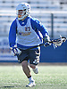 Brendan Kavanagh #27 of Hofstra University carries downfield during a scrimmage against Hobart College at Hofstra University on Saturday, Feb. 4, 2017.