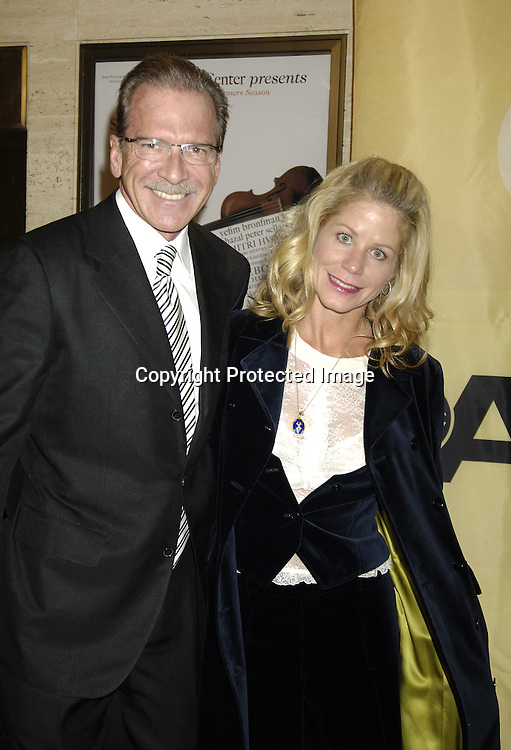 Pat O'Brien and Betsy Stephens ..at the 30th Anniversary Celebration of Good Morning America on October 25, 2005 at Avery Fisher Hall ...Photo by Robin Platzer, Twin Images