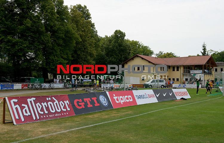 24.07.2013, Sportplatz, Blankenhain, GER, 1.FBL, Trainingslager Werder Bremen 2013, im Bild Bandenwerbung<br /> <br /> Foto &copy; nph / Frisch