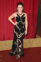 Jazmine Franks<br /> arrives for the British Soap Awards 2016 at Hackney Empire, London.<br /> <br /> <br /> &copy;Ash Knotek  D3124  28/05/2016