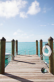 EXUMAS, Bahamas. The dock at the Fowl Cay Resort.