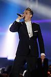 Singer John Newman during the gala of '40 Principales Awards 2013'.December 12,2013. (ALTERPHOTOS/Mikel)
