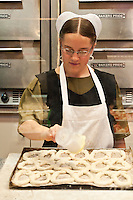 Making soft pretzels, Reading Terminal Market, Philadelphia, PA, Pennsylvania, USA