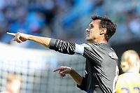 San Jose, CA - Saturday July 29, 2017: Chris Wondolowski during a Major League Soccer (MLS) match between the San Jose Earthquakes and Colorado Rapids at Avaya Stadium.