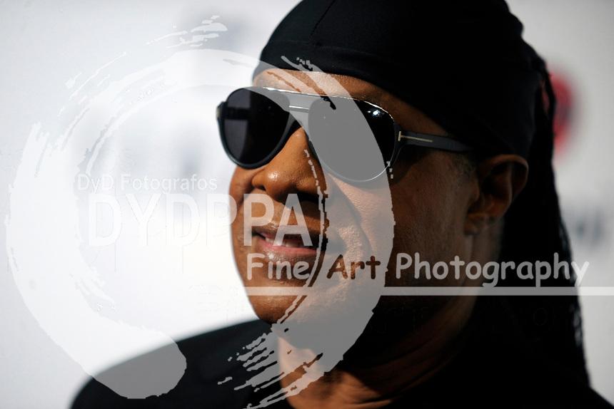 Stevie Wonder beim 3. TIDAL X Brooklyn Benefizkonzert im Barclay's Center. New York, 17.10.2017