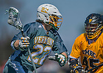 16 April 2016: University of Vermont Catamount Midfielder Alex Stanko, a Junior from West Newton, MA, in action against the University of Maryland, Baltimore County Retrievers at Virtue Field in Burlington, Vermont. The Catamounts defeated the Retrievers 14-10 in NCAA Division I play. Mandatory Credit: Ed Wolfstein Photo *** RAW (NEF) Image File Available ***