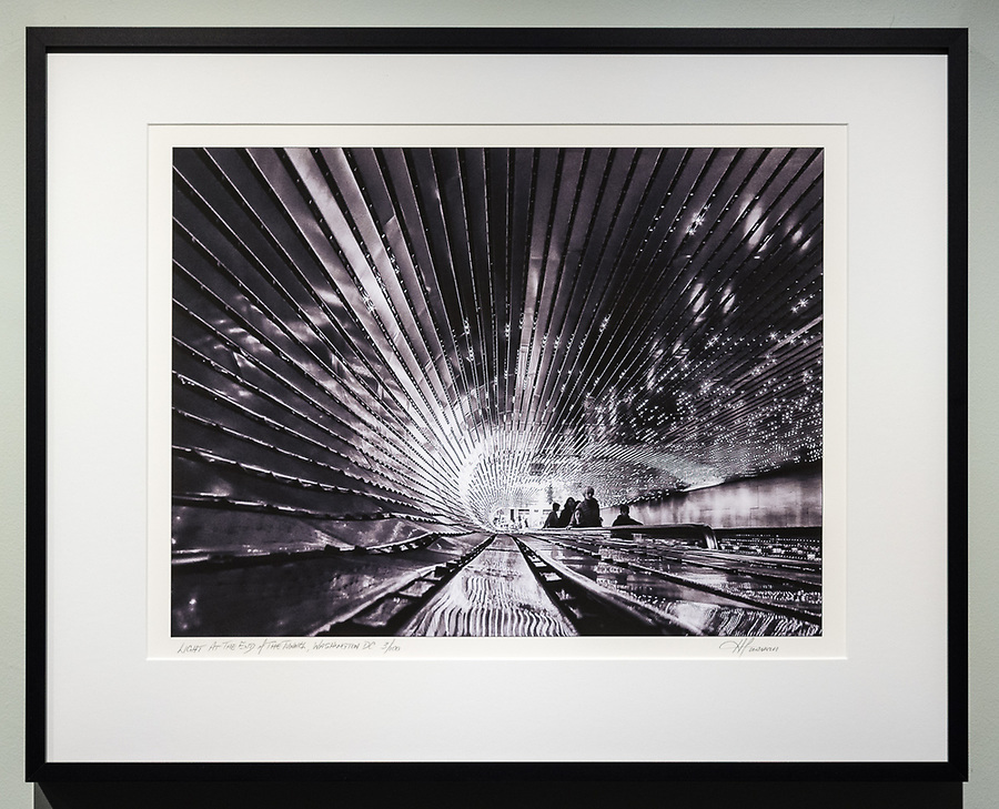 "Framed Size 16""h x 20""w, $400.<br /> Matte Black Nielsen 117 metal frame with non-glare glazing"