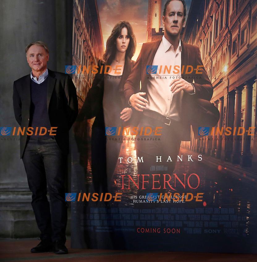 Dan Brown<br /> Firenze 06-10-2016. Photocall del film 'Inferno' in anteprima mondiale.<br /> Rome 6th October 2016. 'Inferno' Photocall<br /> Foto Samantha Zucchi Insidefoto