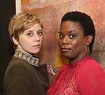 Kate Tarker and Antoinette Nwandu attends The Vineyard Theatre's Emerging Artists Luncheon at The National Arts Club on November 9, 2017 in New York City.