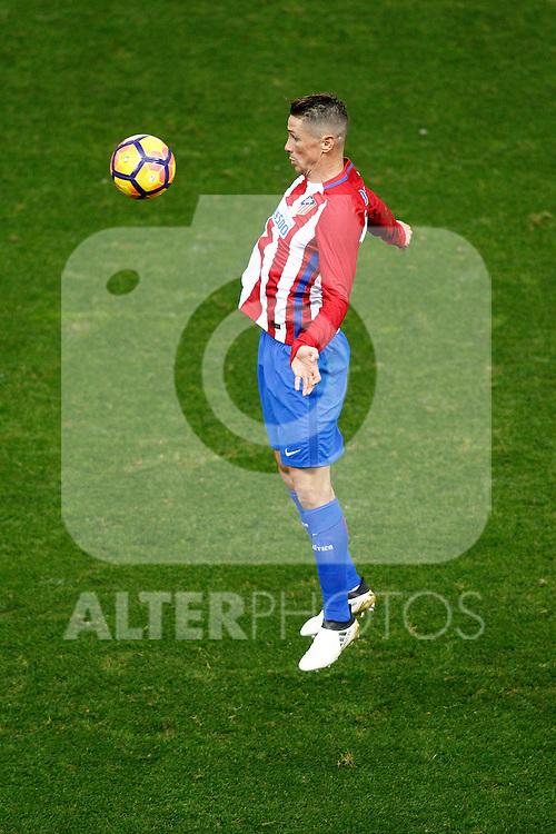 Atletico de Madrid's Fernando Torres during La Liga match. November 19,2016. (ALTERPHOTOS/Acero)