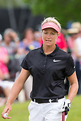 28th May 2017, Ann Arbor, MI, USA;  Suzann Pettersen, of Norway, walks off of the 16th green during the final round of the LPGA Volvik Championship on May 28, 2017 at Travis Pointe Country Club in Ann Arbor, Michigan.