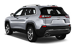 Car pictures of rear three quarter view of 2018 JEEP Cherokee Limited 5 Door SUV Angular Rear