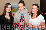 l-r Ciara Mc Namara, Elaine Enright and Catherine Carmody all from Listowel pictured at Miss Kerry 2017 contest in The Brehon Hotel, Killarney last Friday night.