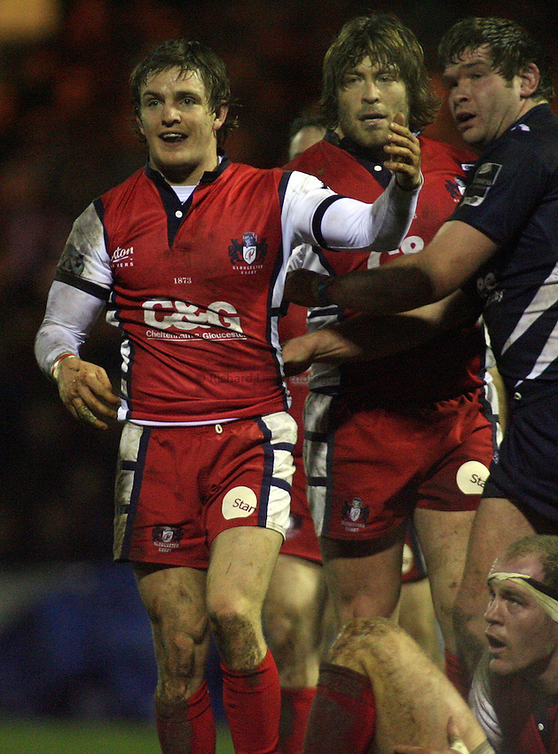 Photo: Paul Thomas..Sale Sharks v Gloucester Rugby. Guinness Premiership. 06/01/2007...Rory Lawson of Gloucester.
