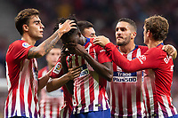 Football. Atletico Madrid v Huesca. LA LIGA. DATE 6. 25 SEPT 2018