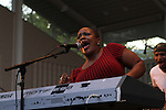 Avery Sunshine Performs at The Robert Glasper Experiment -SummerStage Marcus Garvey Park, NY 8/7/12