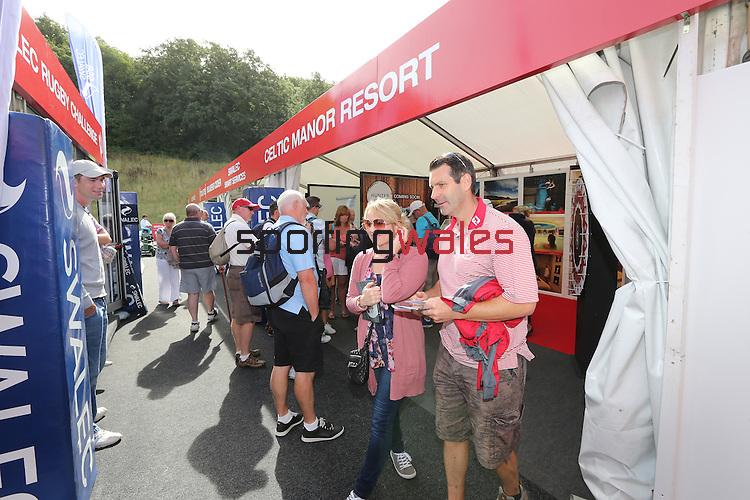 ISPS Handa Wales Open 2013<br /> Celtic Manor Resort<br /> Tented Village<br /> 01.09.13<br /> <br /> &copy;Steve Pope-Sportingwales