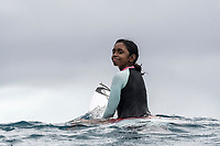 NAMOTU, Fiji (Sunday, June 4, 2017) Mick Fanning's Fijian caddy.  -  The world&rsquo;s best surfers have arrived in the South Pacific for Stop No. 5 on the 2017 World Surf League (WSL) Championship Tour (CT), the Outerknown Fiji Pro and they went straight into first day action with Round 1 of the men's called on for an 8am start.  <br /> <br /> The delayed final of the Outerknown Fiji Women&rsquo;s Pro was run prior to the start of the Men's Round 1 with California&rsquo;s Courtney Conlogue (USA) taking the win over Hawaii&rsquo;s Tatiana Weston-Webb (HAW)<br /> <br /> The 2017 World Title the race for the men is closer than ever heading into Fiji with only 300 points separating No. 1 on the Jeep Leaderboard, John John Florence (HAW), from 2015 WSL Champion Adriano de Souza (BRA), and 2017 World Title contenders Jordy Smith (ZAF) and Owen Wright (AUS). <br /> <br /> <br /> Photo: joliphotos.com