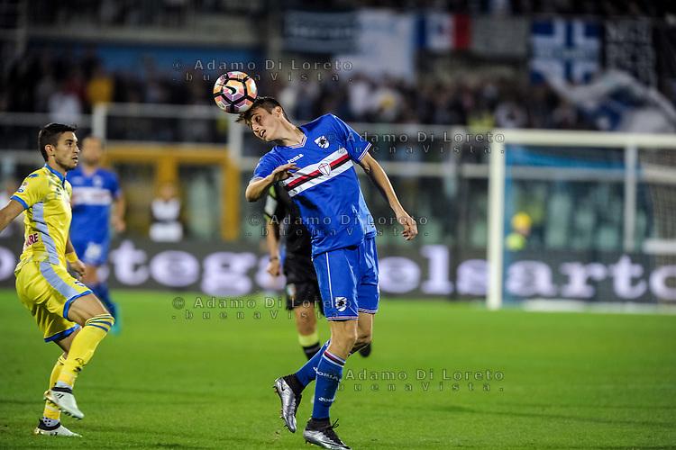 Budimir Ante (Sampdoria) during the Italian Serie A football match Pescara vs Sampdoria on October 15, 2016, in Pescara, Italy. Photo Adamo Di Loreto/BuenaVista*photo