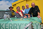 VINTAGE CARS: Enjoying the Maurice Collins Memorial Vintage Car day at the Ballyheigue Summer Festival on Sunday l-r: Ned Murphy, Pat Colgan, Tom O'Doherty, Jerry Clifford and James Carmody.   Copyright Kerry's Eye 2008