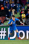 Vitorino Gabriel Pacheco Antunes of Getafe CF in action during the La Liga 2017-18 match between Getafe CF and Malaga CF at Coliseum Alfonso Perez on 12 January 2018 in Getafe, Spain. Photo by Diego Gonzalez / Power Sport Images