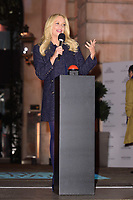 Emma Bunton switches on Xmas lights