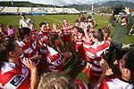 NELSON, NEW ZEALAND - JULY 20: Tasman Trophy Women's Final WOB v Moutere on July 20 at Trafalgar Park 2019 in Nelson, New Zealand. (Photo by: Evan Barnes Shuttersport Limited)