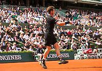 ANDY MURRAY  (GBR)<br /> <br /> Tennis - French Open 2015 -  Roland Garros - Paris -  ATP-WTA - ITF - 2015  - France <br /> <br /> &copy; AMN IMAGES