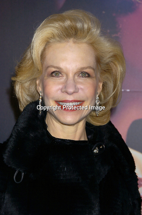 """Lynn Wyatt ..at The New York Premiere of """"Phantom of the Opera"""" on ..December 12, 2004 at the Ziegfeld Theatre. ..Photo by Robin Platzer, Twin Images"""
