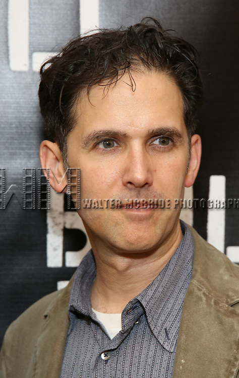 Ari Edelson attends the press photo call for 'Building The Wall' Ripley-Grier on May 5, 2017 in New York City.