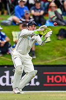 BJ Watling of the Black Caps during Day 4 of the Second International Cricket Test match, New Zealand V England, Hagley Oval, Christchurch, New Zealand, 2nd April 2018.Copyright photo: John Davidson / www.photosport.nz